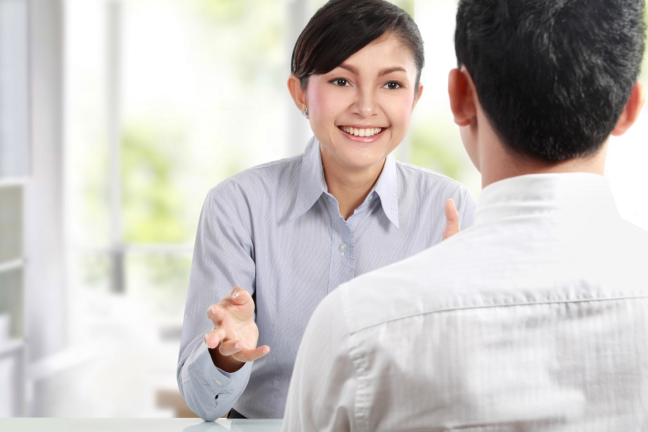Prepare for the job interview by practicing with a friend