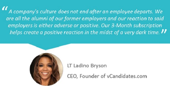 vCandidates.com - It is as important to protect the company's culture during times of workforce reduction.